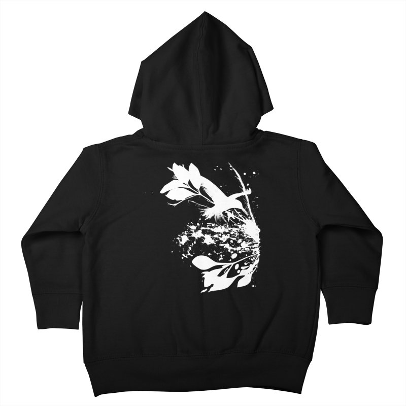 Nature's Matter [ .BLACK. ] Kids Toddler Zip-Up Hoody by expo's Artist Shop