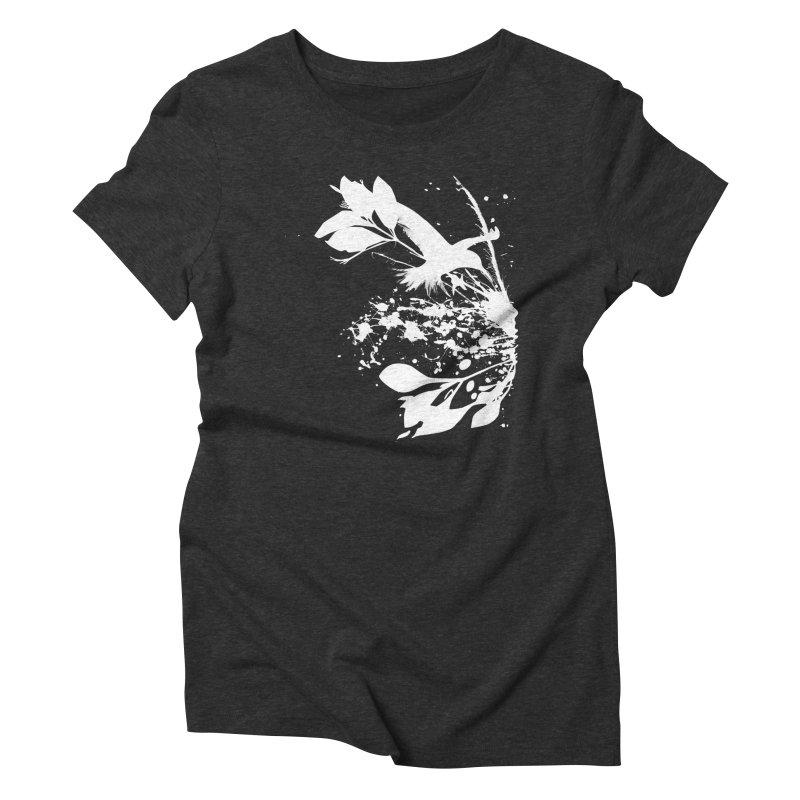 Nature's Matter [ .BLACK. ] Women's Triblend T-Shirt by expo's Artist Shop