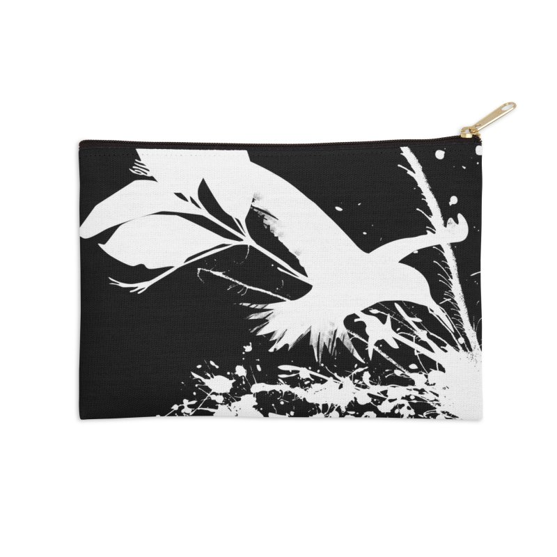 Nature's Matter [ .BLACK. ] Accessories Zip Pouch by expo's Artist Shop