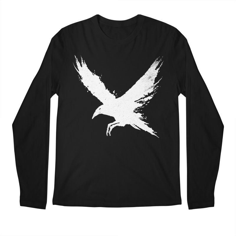 The Raven [ .BLACK. ] Men's Regular Longsleeve T-Shirt by expo's Artist Shop