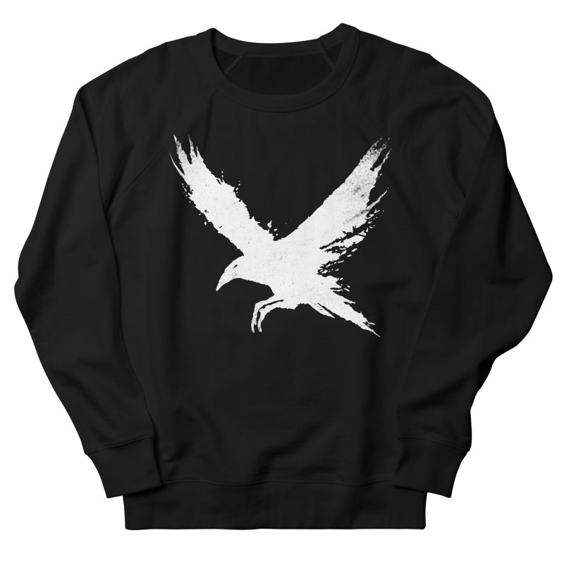 The Raven [ .BLACK. ] Men's French Terry Sweatshirt by expo's Artist Shop