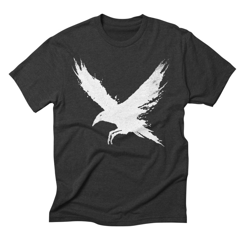 The Raven [ .BLACK. ] Men's Triblend T-Shirt by expo's Artist Shop