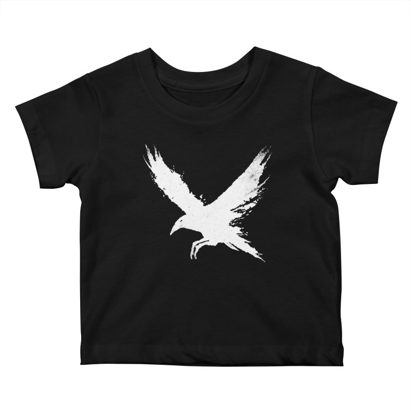 The Raven [ .BLACK. ] Kids Baby T-Shirt by expo's Artist Shop