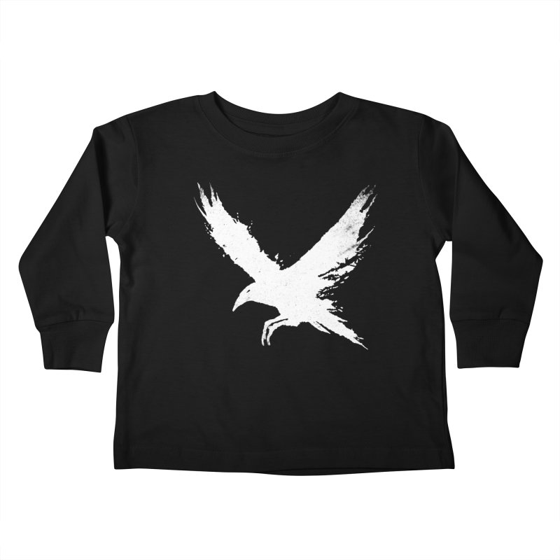 The Raven [ .BLACK. ] Kids Toddler Longsleeve T-Shirt by expo's Artist Shop