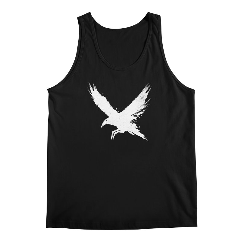 The Raven [ .BLACK. ] Men's Regular Tank by expo's Artist Shop