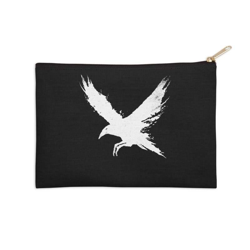 The Raven [ .BLACK. ] Accessories Zip Pouch by expo's Artist Shop