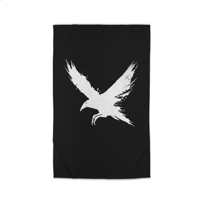 The Raven [ .BLACK. ] Home Rug by expo's Artist Shop