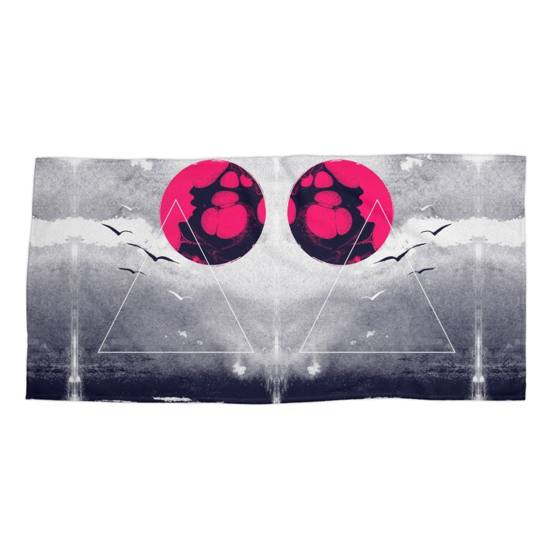 Memories Of Tomorrow Accessories Beach Towel by expo's Artist Shop