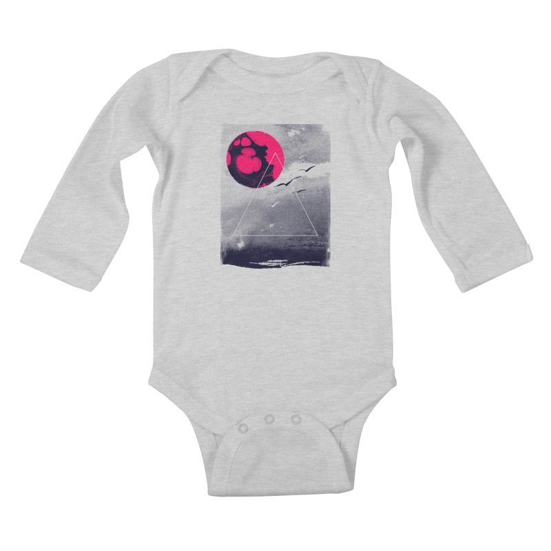 Memories Of Tomorrow Kids Baby Longsleeve Bodysuit by expo's Artist Shop