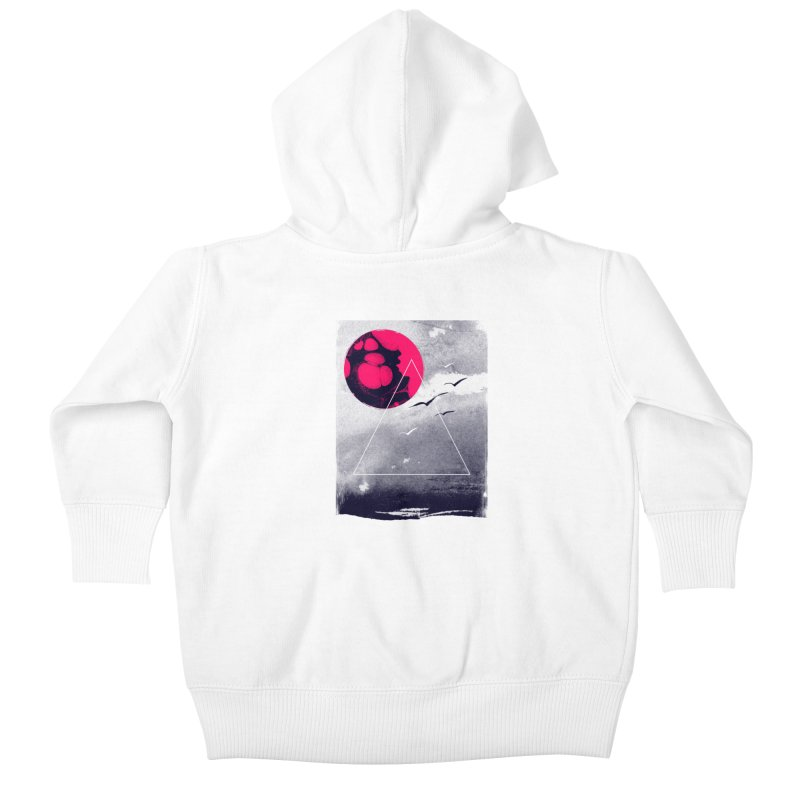 Memories Of Tomorrow Kids Baby Zip-Up Hoody by expo's Artist Shop