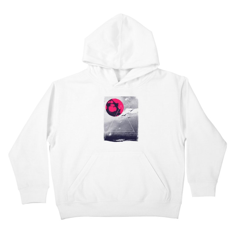 Memories Of Tomorrow Kids Pullover Hoody by expo's Artist Shop