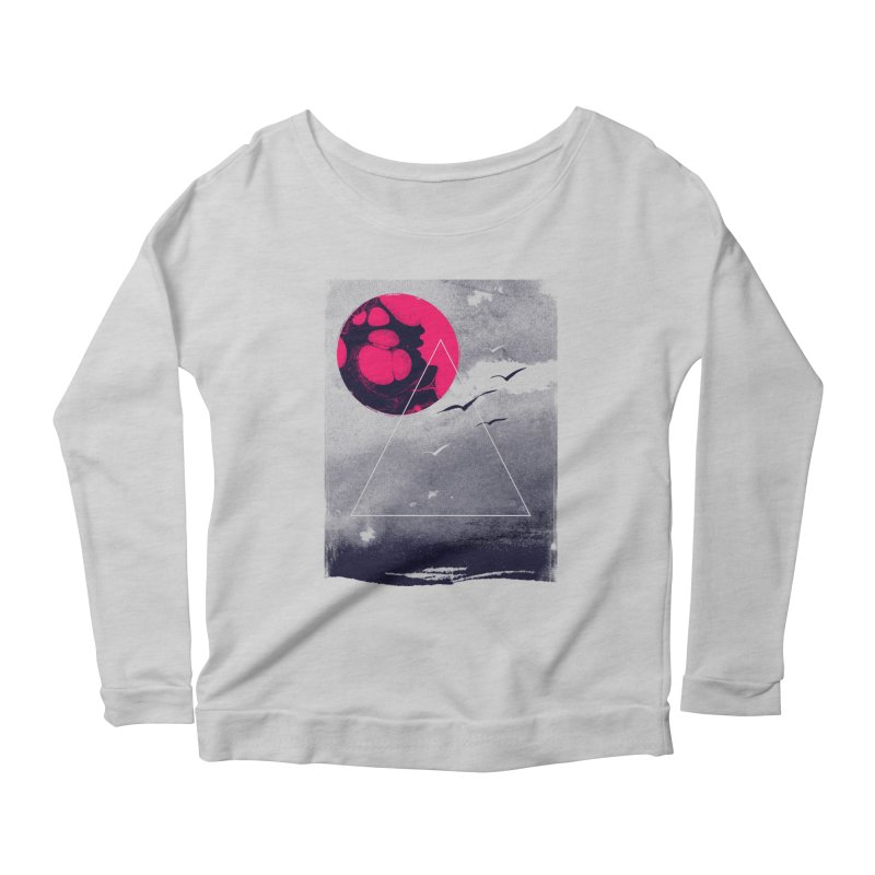 Memories Of Tomorrow Women's Scoop Neck Longsleeve T-Shirt by expo's Artist Shop