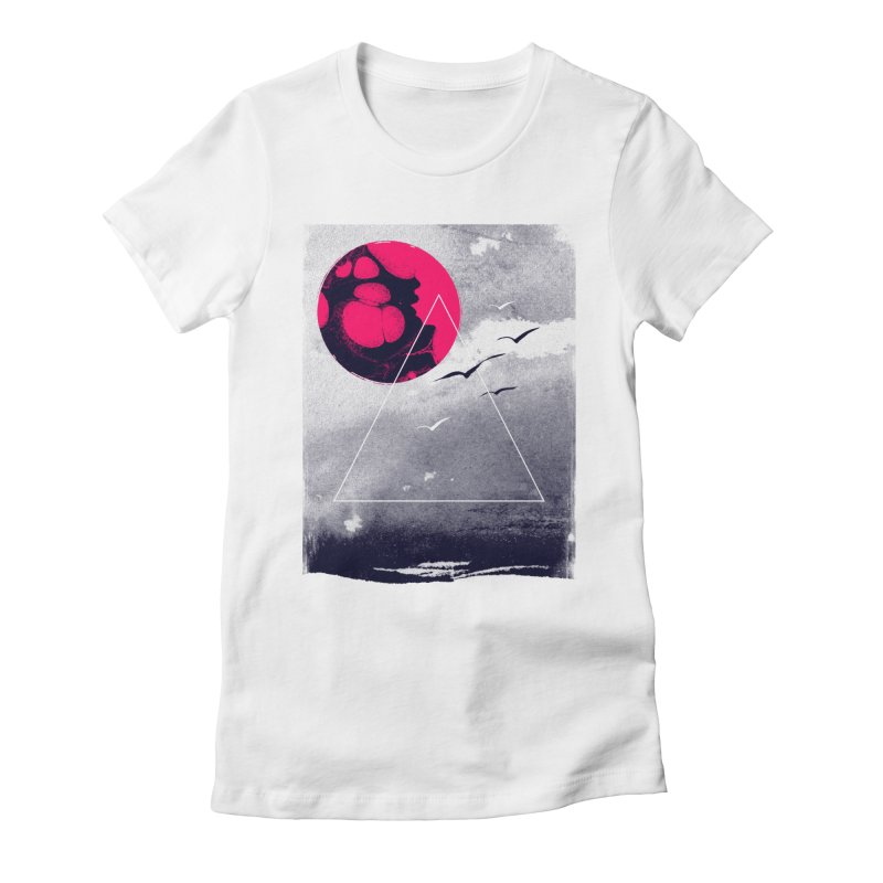 Memories Of Tomorrow Women's Fitted T-Shirt by expo's Artist Shop
