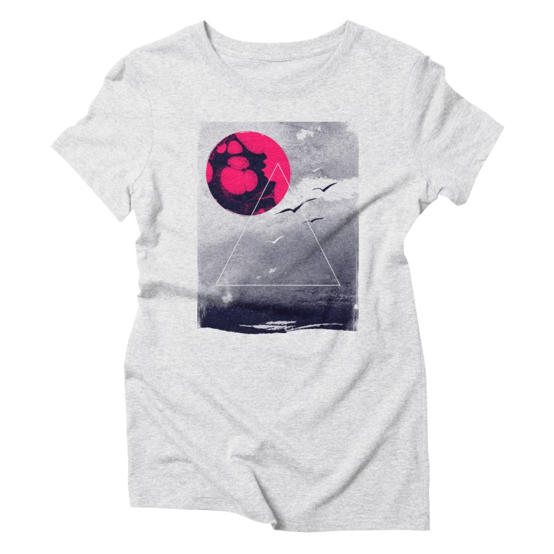 Memories Of Tomorrow Women's Triblend T-shirt by expo's Artist Shop