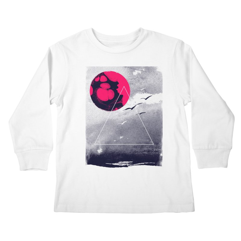 Memories Of Tomorrow Kids Longsleeve T-Shirt by expo's Artist Shop