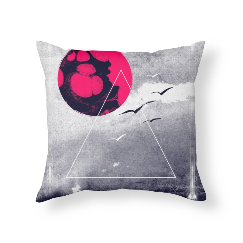 Memories Of Tomorrow Home Throw Pillow by expo's Artist Shop