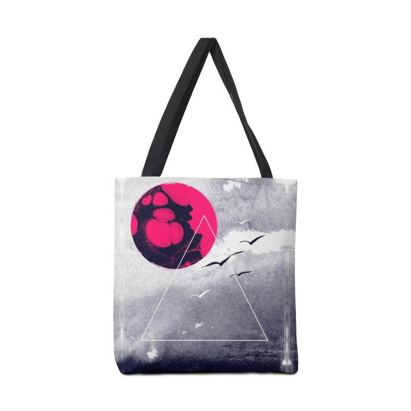 Memories Of Tomorrow Accessories Bag by expo's Artist Shop