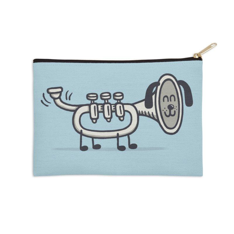 Trum Pet Accessories Zip Pouch by expo's Artist Shop
