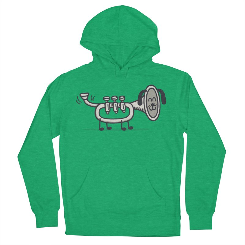 Trum Pet Women's Pullover Hoody by expo's Artist Shop
