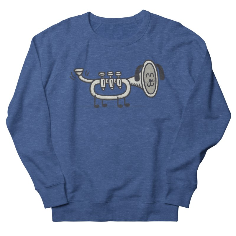 Trum Pet Women's French Terry Sweatshirt by expo's Artist Shop