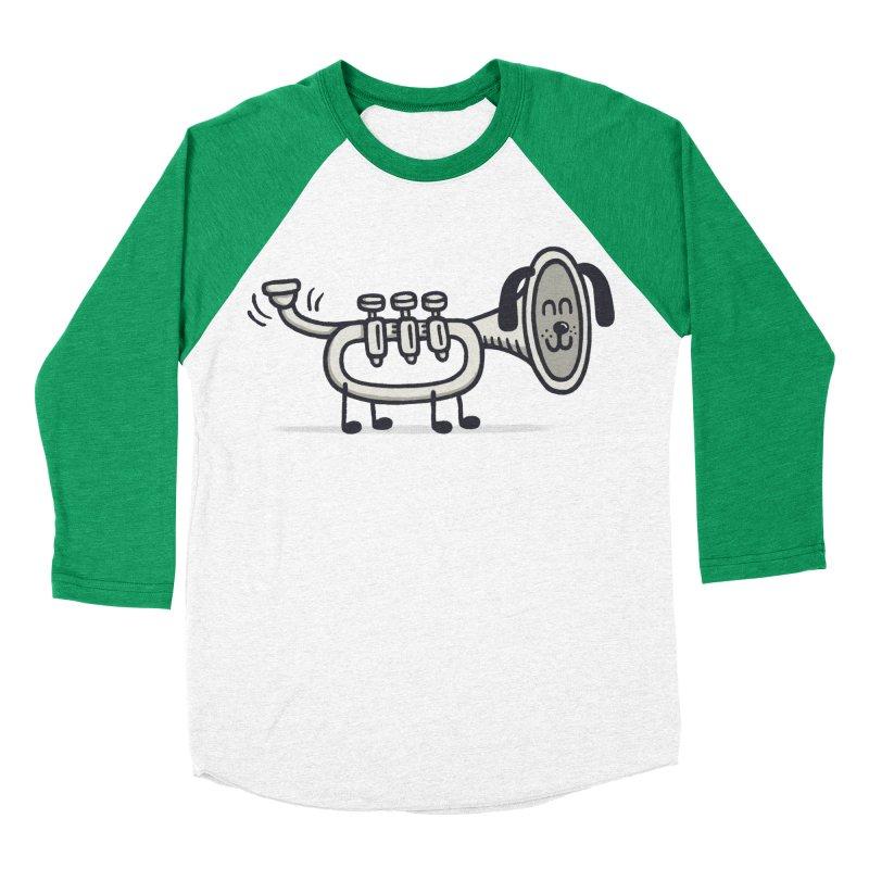 Trum Pet Women's Baseball Triblend T-Shirt by expo's Artist Shop