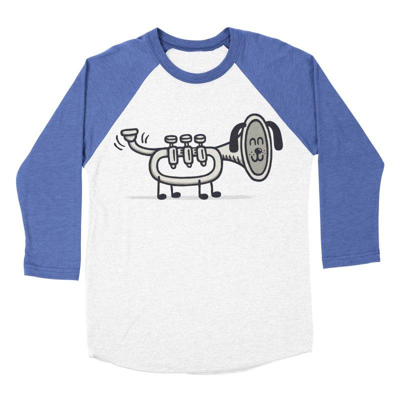 Trum Pet Men's Baseball Triblend T-Shirt by expo's Artist Shop