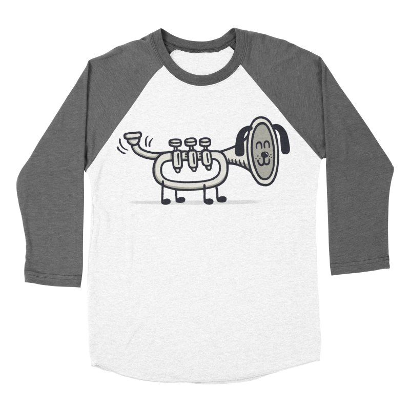 Trum Pet Men's Baseball Triblend T-Shirt by expo's Artist Shop
