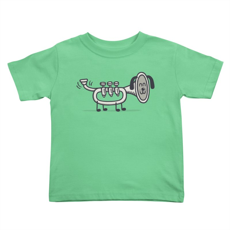 Trum Pet Kids Toddler T-Shirt by expo's Artist Shop