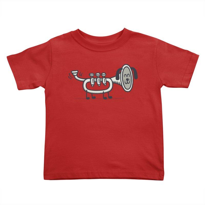 Trum Pet Kids Toddler T-Shirt by expo's Artist Shop