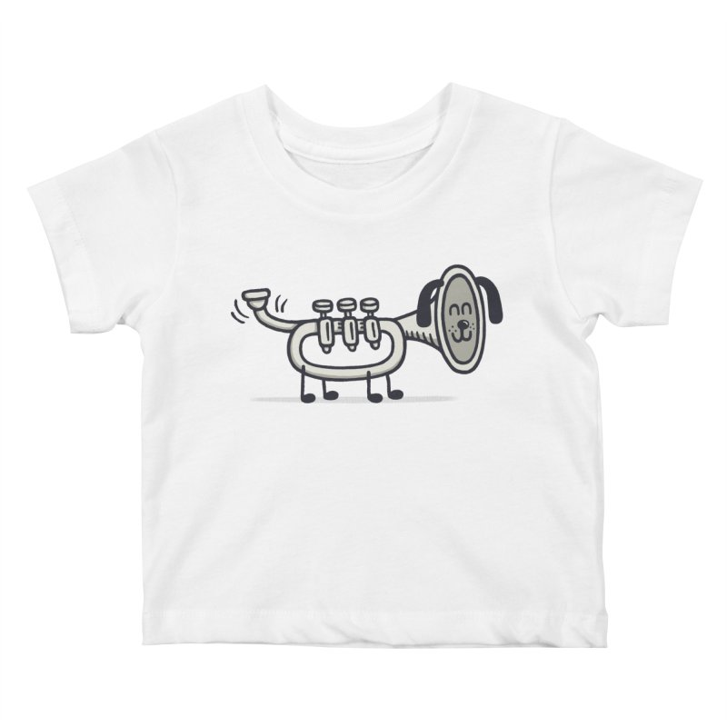 Trum Pet Kids Baby T-Shirt by expo's Artist Shop