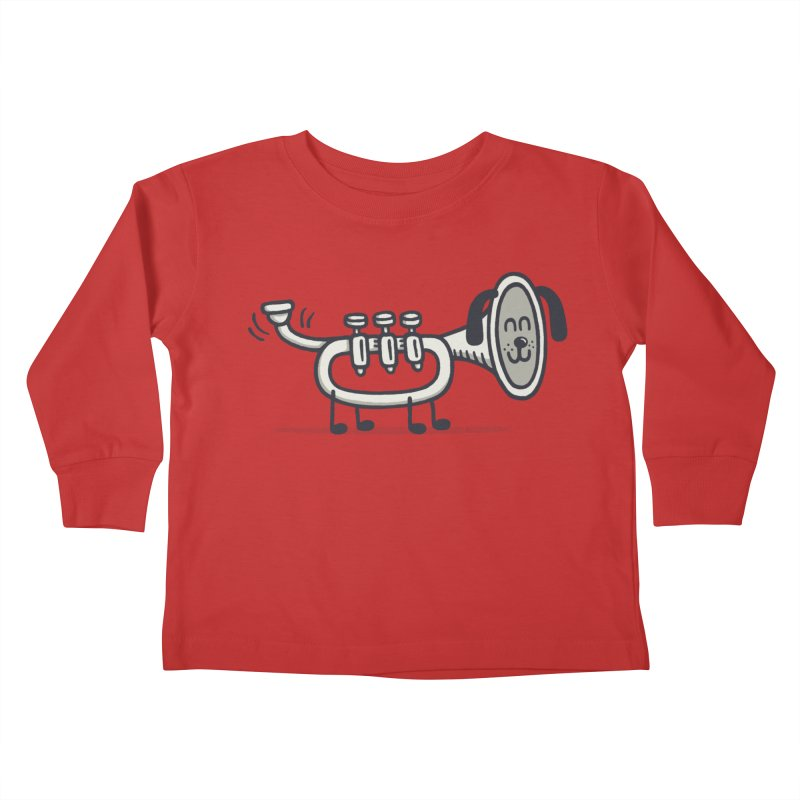 Trum Pet Kids Toddler Longsleeve T-Shirt by expo's Artist Shop