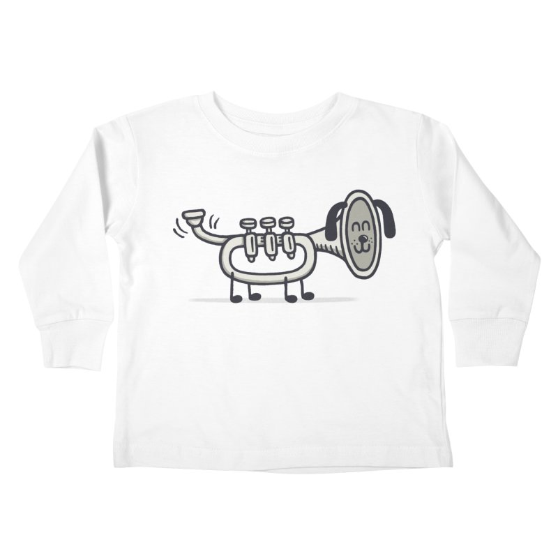 Trum Pet Kids Toddler Longsleeve T-Shirt by expo's Artist Shop