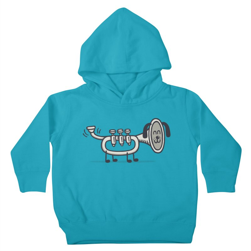 Trum Pet Kids Toddler Pullover Hoody by expo's Artist Shop