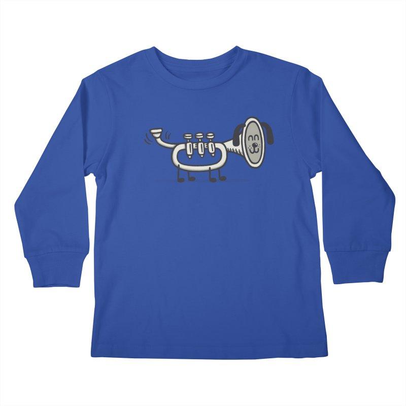 Trum Pet Kids Longsleeve T-Shirt by expo's Artist Shop