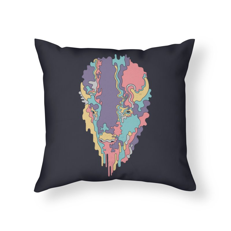 Keep The Funk Home Throw Pillow by expo's Artist Shop