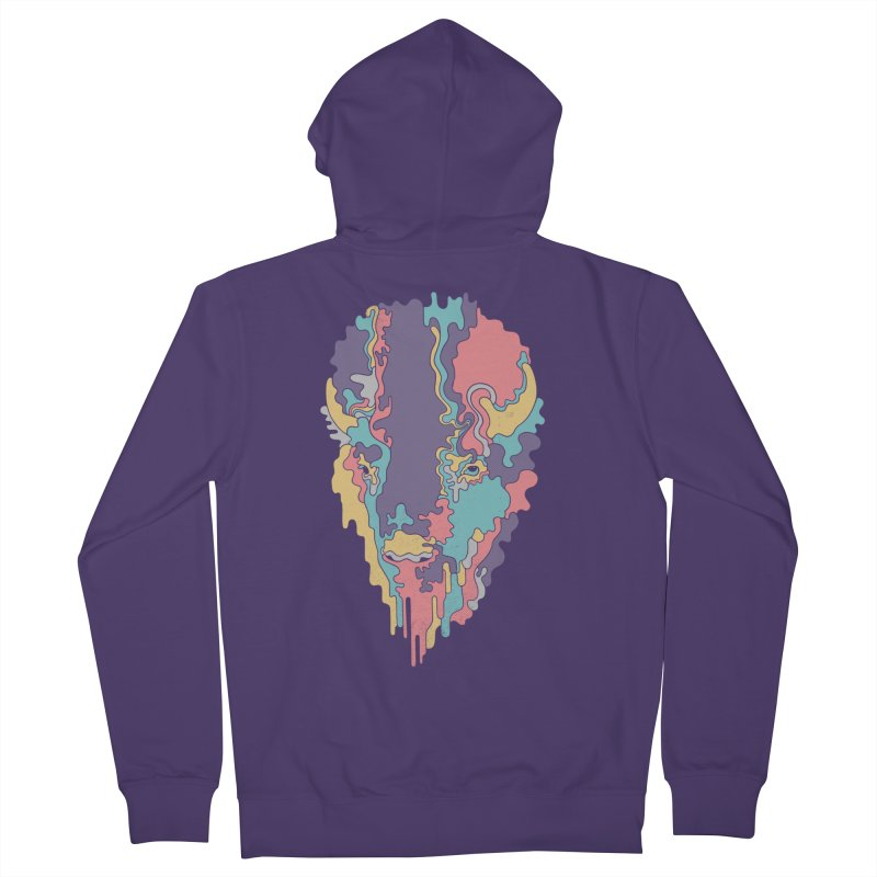 Keep The Funk Women's French Terry Zip-Up Hoody by expo's Artist Shop