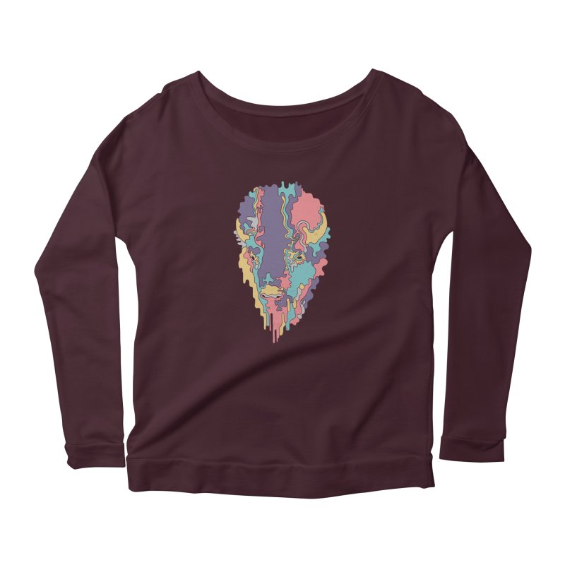 Keep The Funk Women's Longsleeve Scoopneck  by expo's Artist Shop