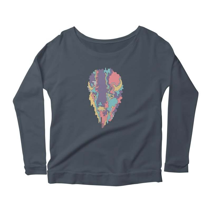 Keep The Funk Women's Scoop Neck Longsleeve T-Shirt by expo's Artist Shop