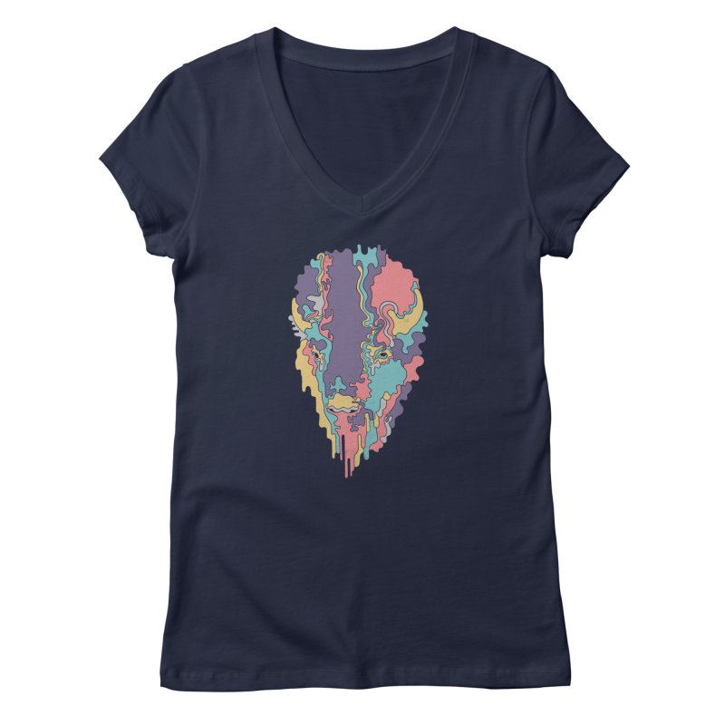 Keep The Funk Women's V-Neck by expo's Artist Shop