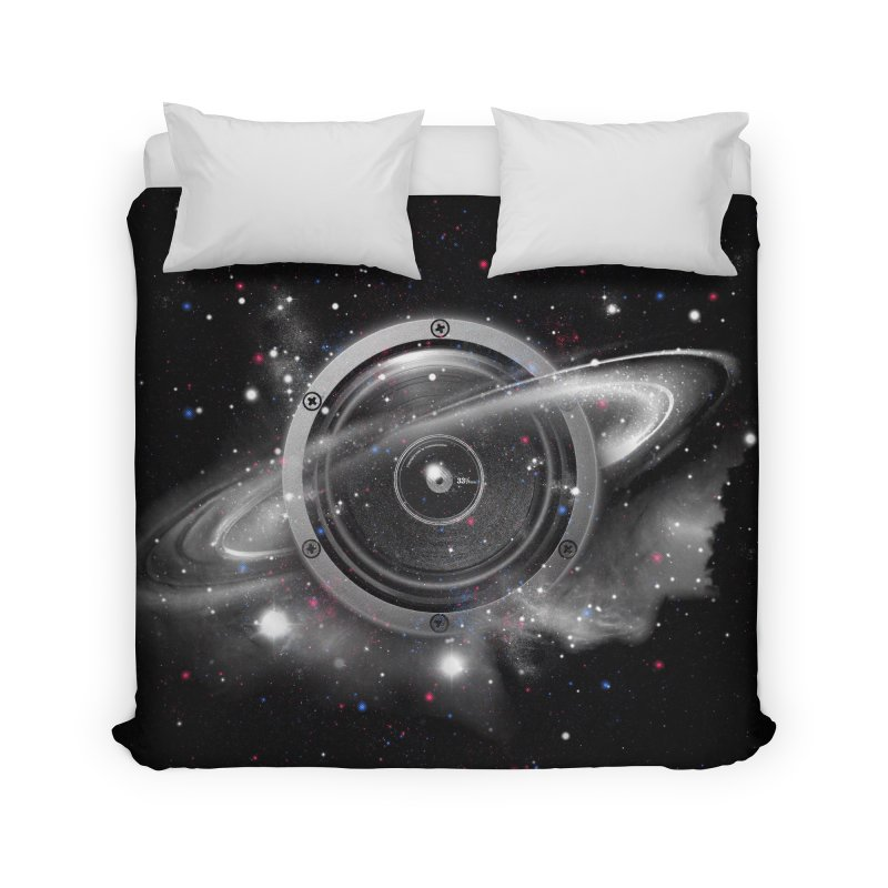 Planet Music Home Duvet by expo's Artist Shop