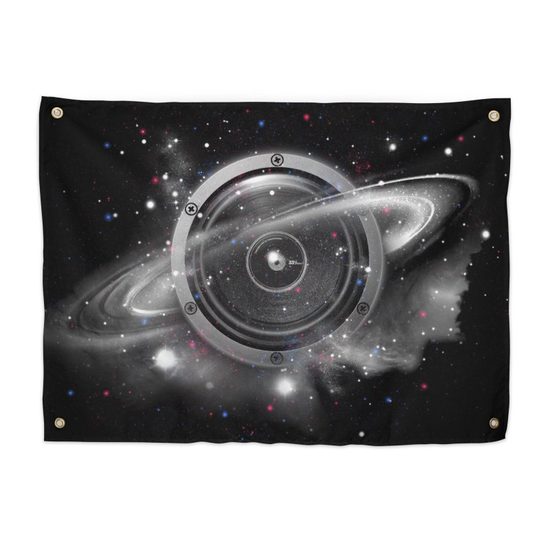 Planet Music Home Tapestry by expo's Artist Shop