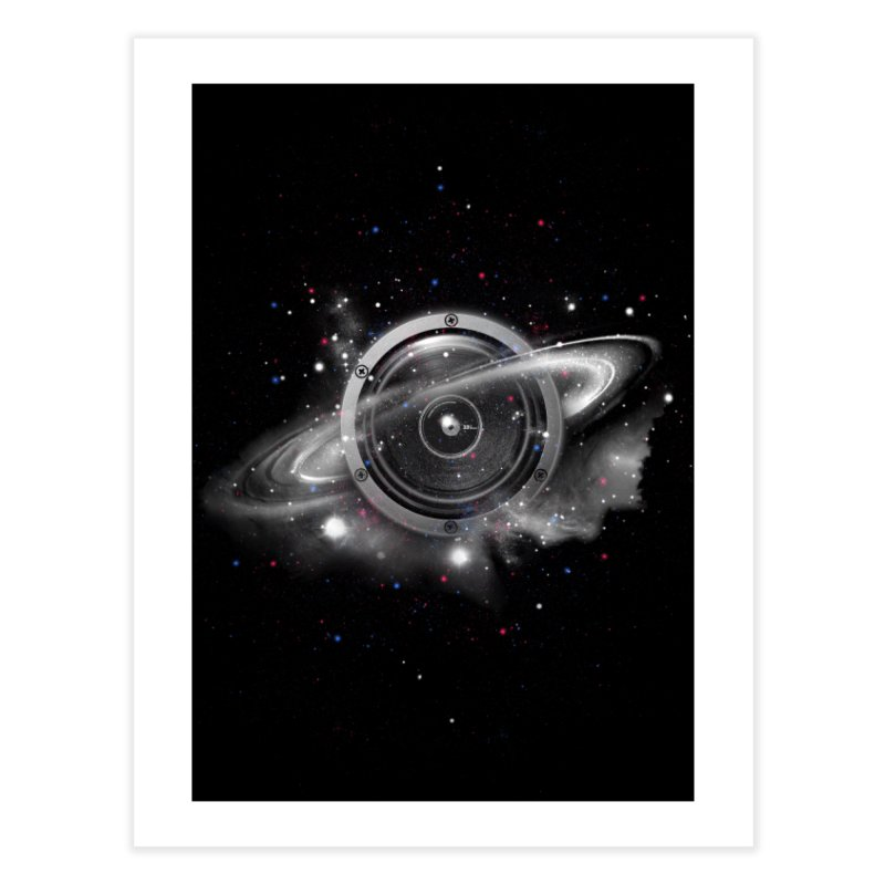 Planet Music Home Fine Art Print by expo's Artist Shop