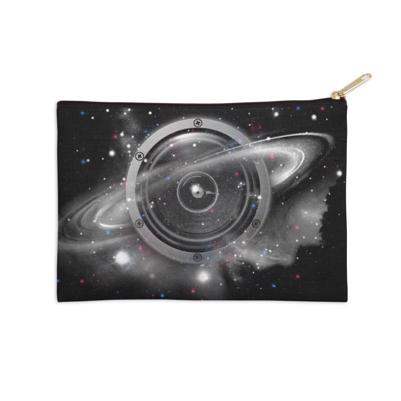 Planet Music Accessories Zip Pouch by expo's Artist Shop