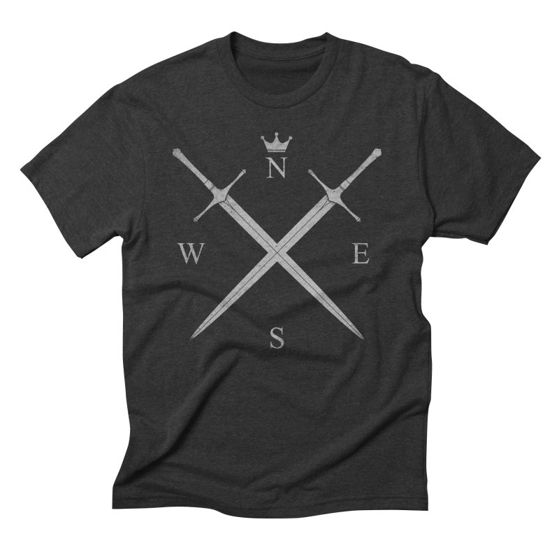 King In The North Men's Triblend T-Shirt by expo's Artist Shop