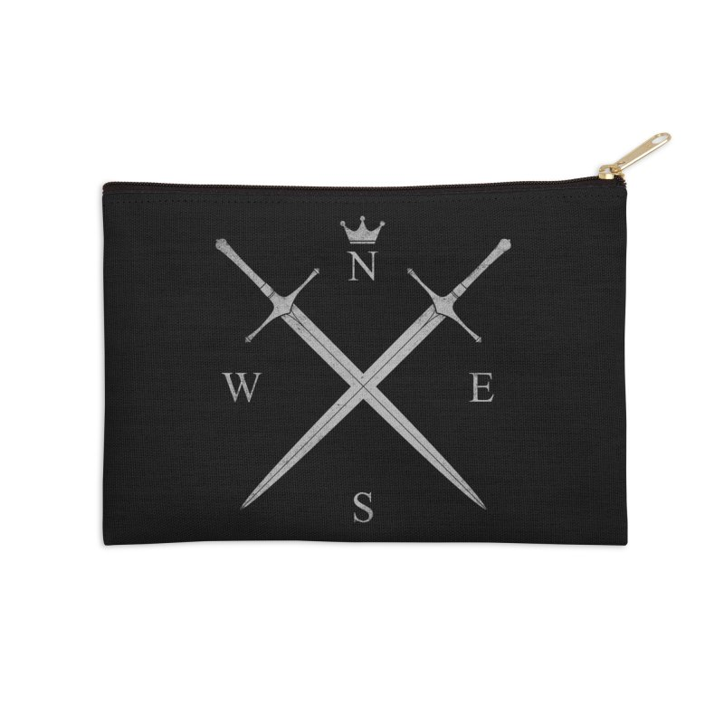King In The North Accessories Zip Pouch by expo's Artist Shop