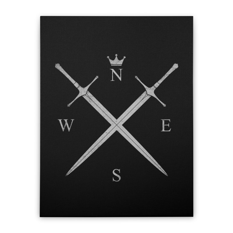 King In The North Home Stretched Canvas by expo's Artist Shop