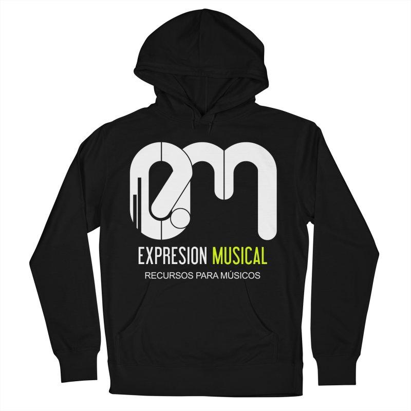 Playera EM  Men's Pullover Hoody by Expresión Musical