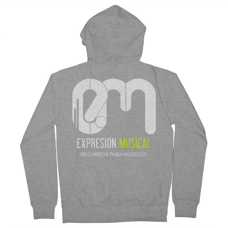 Playera EM  Women's Zip-Up Hoody by Expresión Musical