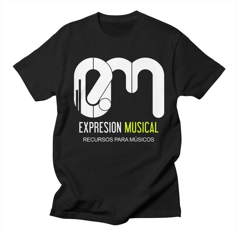 Playera EM  Men's T-shirt by Expresión Musical