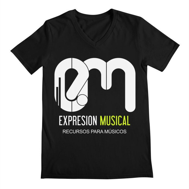 Playera EM  Men's V-Neck by Expresión Musical